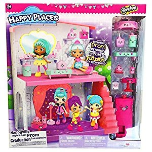 Happy Places Shopkins High School Prom Playset