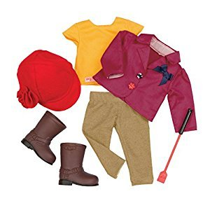 Our Generation Dolls Ready to Ride-18-Inch Doll Deluxe Riding Outfit