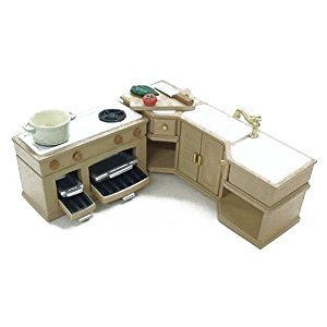 Sylvanian Families furniture kitchen set over -411 (japan import)