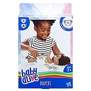 BABY ALIVE C3750 Diaper Refill Baby-Dolls and Accessories