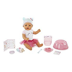 BABY born 916021 Brown Eyes Interactive Doll