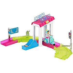 Barbie On The Go Post Office Playset