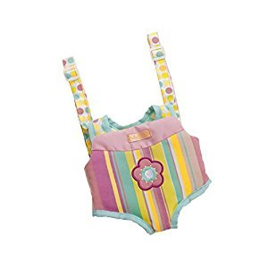 Manhattan Toy Baby Stella Snuggle Up Front Carrier Accessory for Nurturing Dolls