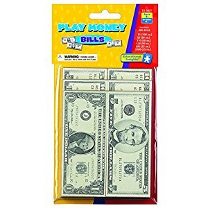 Educational Insights Play Money-Bills