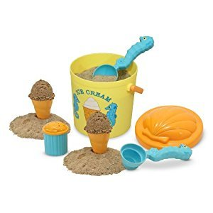Melissa & Doug Sunny Patch Speck Seahorse Sand Ice Cream Play Set