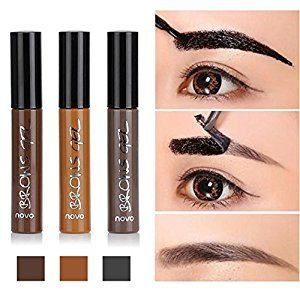 Huayang| Long Lasting Tattoo Eyebrow Gel Pack 6g, Women Peel Off Waterproof Eyebrow Tint Gel Cream Light Brown