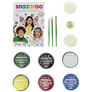 Snazaroo 1194010 Face Paint Mini Starter Kit