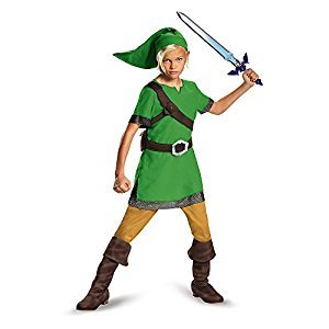 Disguise Costumes Link Classic Costume, Large (10-12), One Color