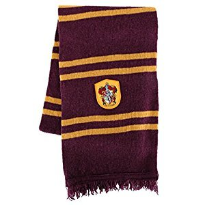 Harry Potter Scarf - Gryffindor, Slytherin or Ravenclaw - Cinereplicas (Gryffindor Purple & Gold)