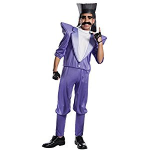 Rubie's Costume Company 630762_S Boys Despicable Me 3 Balthazar Bratt Villain Costume, Small, Multicolor