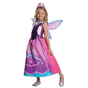 Rubies Costume Co Barbie Fairytopia Mariposa and Her Butterfly Fairy Friends Deluxe Catania Costume, Medium