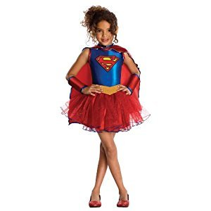 Rubies Costume Co Justice League Child's Supergirl Tutu Dress, Toddler