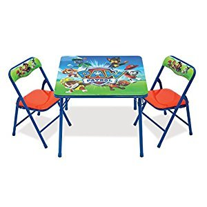 Paw Patrol Nickelodeon 87676 Table and Chair Set Toy