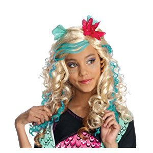 Rubies Costume Co Monster High Lagoona Blue Girls Wig
