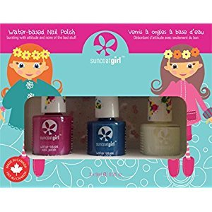 Suncoat Girl 00901 Trio Nail Beauty Kit, Mermaid Princess
