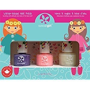 Suncoat Girl 00903 Trio Nail Beauty Kit, Pretty Me