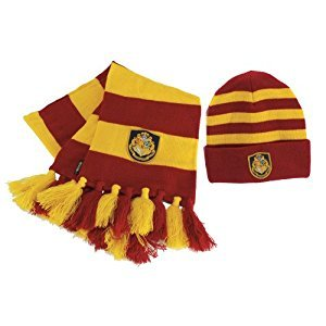 Harry Potter Officially Licensed Hogwart's Knit Hat Scarf