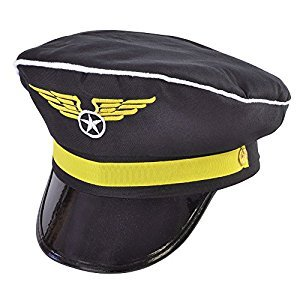 Pilot Hat Accessory Fancy Dress