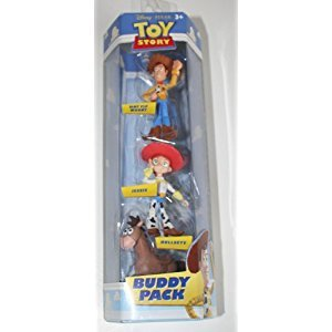 Toy Story Buddy 3-Pack Hat Tip Woody, Jessie and Bullseye