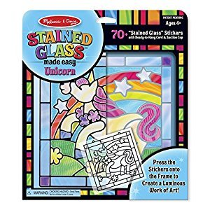 Melissa & Doug Stained Glass Made Easy • Unicorn