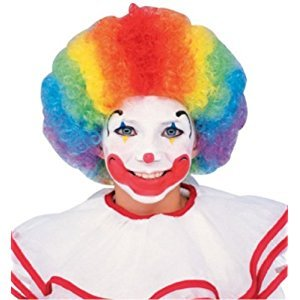 Rubie's Costume Clown Wig, Multi-Color