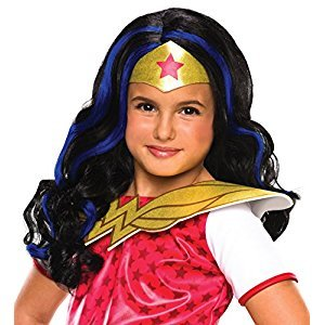 Rubies Costume Girls DC Super Hero Wonder Woman Wig