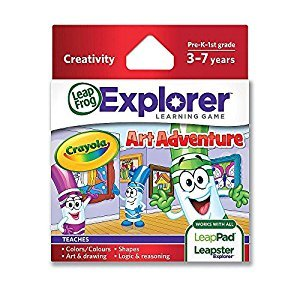 LeapFrog Explorer Learning Game: Crayola Art Adventure (Packaging may vary)