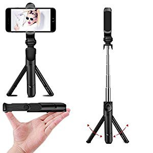 Selfie Stick Tripod Portable Foldable Extendable Monopod Tripod Stand Bluetooth Remote Control Ios/Android Phones Cameras