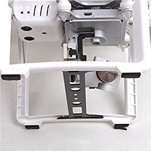 TELESIN Protector Board Carbon Fiber Camera Lens Protect Landing Gear Gimbal Guard for DJI Phantom 3 RC Parts
