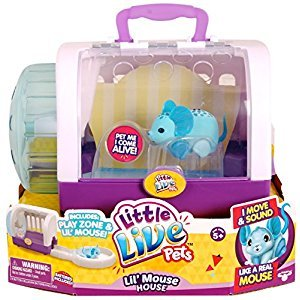 Little Live Pets Lil' Mouse House - Jungle Wonder