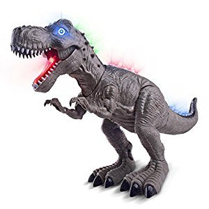 Magical Imaginary Dino robot T-Rex Toy Robot Dinosaur Toy Robot Dinosaur Games Robot Dinosaur-Kids Walking Dinosaur Toy Figure with Lights and Sounds Moving(Random Color)