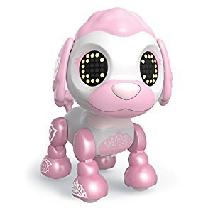 Zoomer Zupps Royal Pups, Empress Poodle, Litter 4 - Interactive Puppy with Lights, Sounds and Sensors