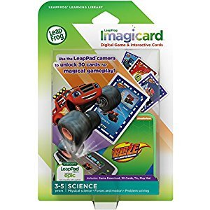 Leapfrog Blaze and The Monster Machines Imagicard Learning Game for Tablets