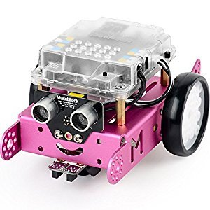 Makeblock DIY mBot 1.1 Kit (2.4G Version) - STEM Education - Arduino - Scratch 2.0 - Programmable Robot Kit for Kids to Learn Coding & Robotics - Pink (School)
