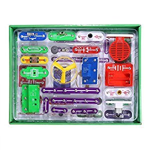 Smibie 335 DIY Circuit Experiments Toy Electronic Discovery Educational Science Kit for Kids