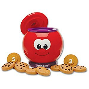 The Learning Journey Learn with Me-Count and Learn Cookie Jar Toy
