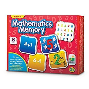 The Learning Journey Match It! Memory-Mathematics Puzzle
