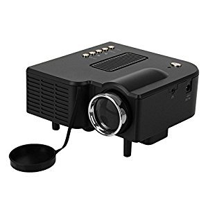Movie LED Mini Hd Portable Projector Entertainment Cinema Theater Multimedia LCD support Pc Laptop HDMI VGA SD USB AV with Remote Control ,Only for Home,Idea for Child Gifts