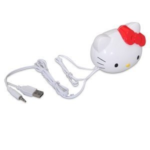 Sakar Hello Kitty Molded Head USB Speaker