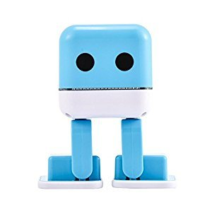 Wireless Bluetooth Speaker,Fosa Smart Dancing Robot Speaker HiFi Music Player with Colorful LED Lights for Kids,Friends,Girls(Blue)