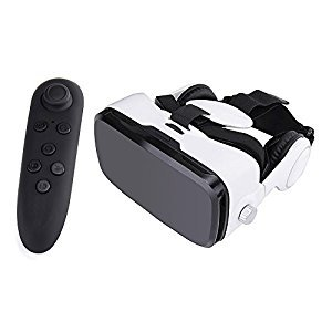 Julyfox X5 3D Glasses Virtual Reality Headset VR Box 0-800 Degree Myope Compatible 120Degree Large View Angle