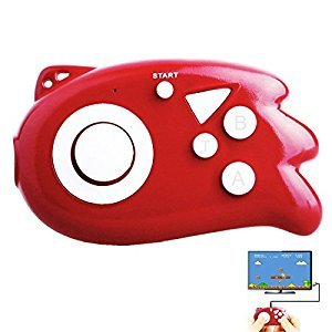 Hisonders Mini Handheld TV 89 Video Games Console (80-RED)