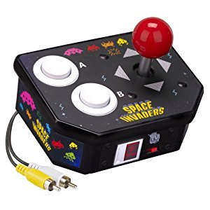 Retro Arcade Space Invaders Plug & Play TV Video Game 10 Games