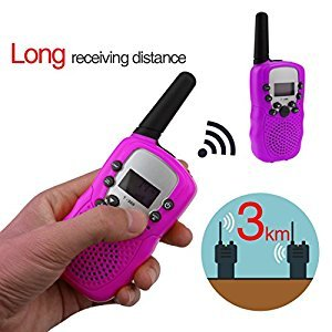 A-SZCXTOP 2 Piece Walkie Talkie for Kids Adult - 22 Channel/Take About Radio long Distance Interphone for Outdoor Camping Travel