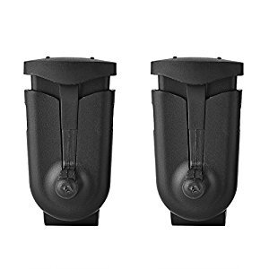 Fosa 2PCS Walkie Talkie Belt Back Clip for Motorola T5720 T5420 T5428 T5628 T5725 T5320