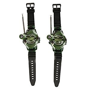 Generic 2Pcs 7 in 1 Children Toy Walkie Talkie Kids Wrist Watches Outdoor Interphone