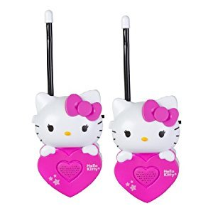 Sakar 54009-Pink Hello Kitty Bracelet Walkie Talkie, Pink