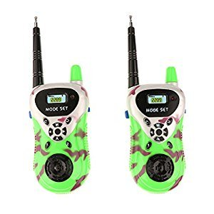 Set of 2pcs Kids Walkie Talkie Electric Toy Handy Two-Way Interphone