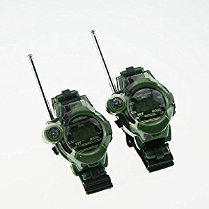 xlpace Kids Walkie Talkie Watches Children Watch Radio Outdoor Interphone Toy Gifts 1 Pair