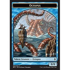 Magic: the Gathering - Octopus Token (007/014) - Battle for Zendikar by Magic: the Gathering